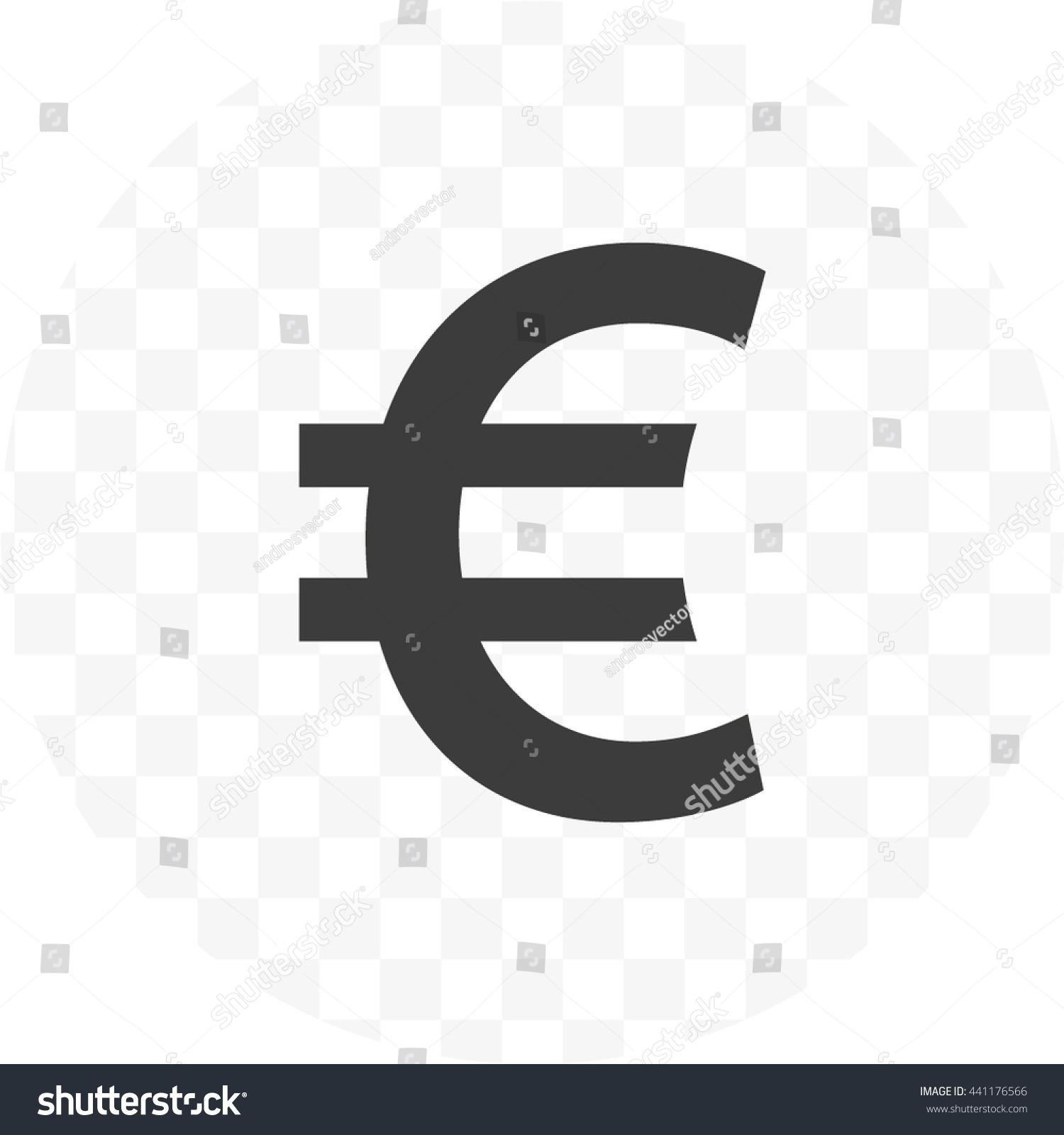 Euro sign icon euro currency symbol stock vector 441176566 euro sign icon euro currency symbol money label buycottarizona Gallery