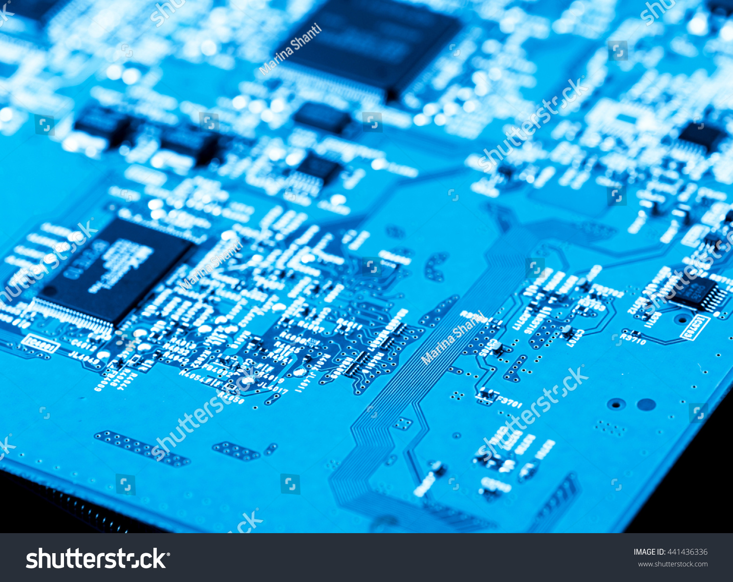 Close Up Of Electronic Circuits In Technology On Mainboard Computer Circuit Board Repair Field Service Background Logic Boardcpu Motherboardmain Boardsystem Boardmobo Ez Canvas