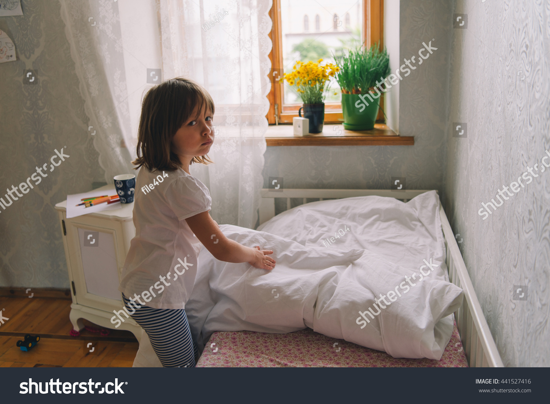 Little Girl Bedroom Pretty Stock Photo Edit Now 441527416