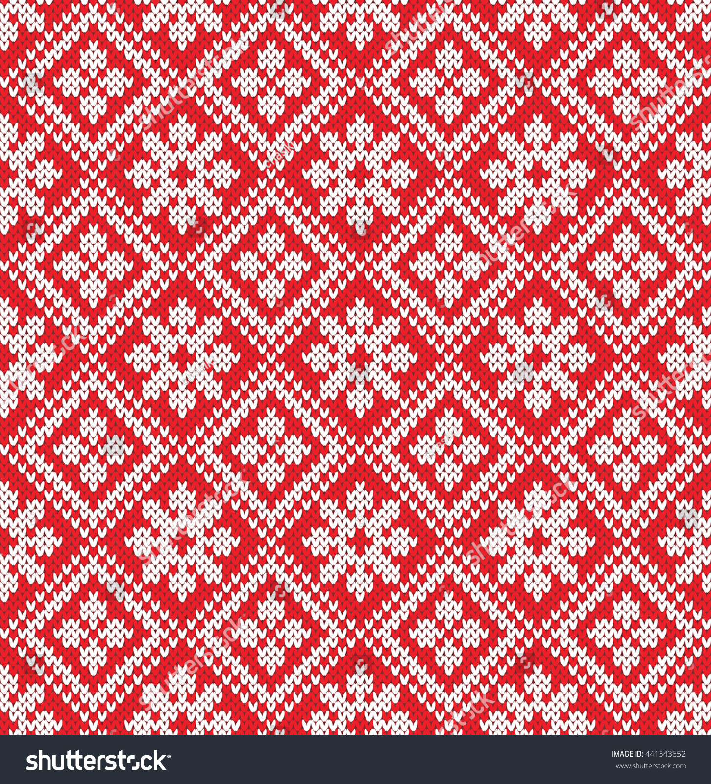 Norway Star Seamless Knitting Pattern Stock Vector HD (Royalty Free ...