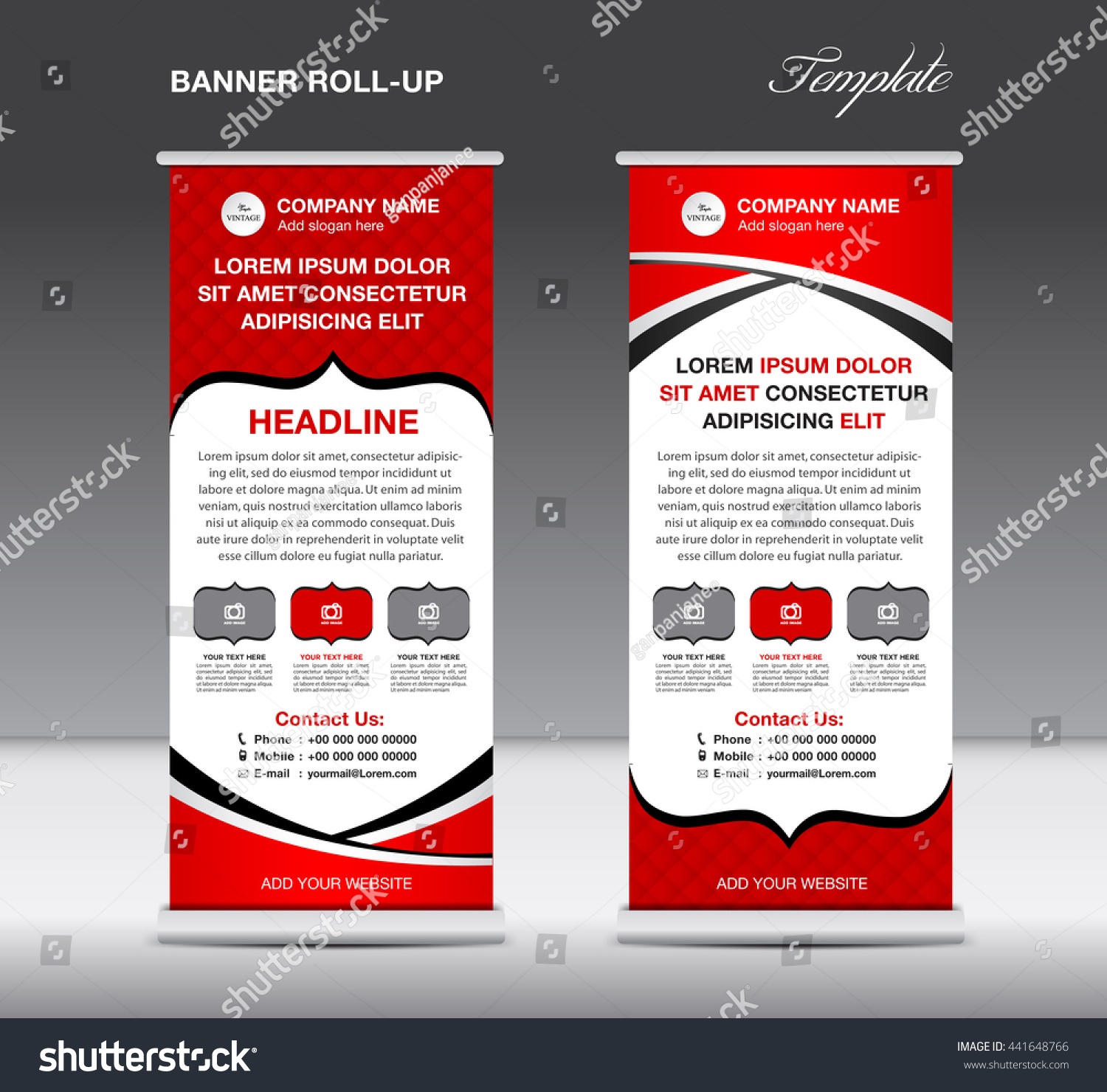 red roll up banner stand template brochure flyer design red roll up banner stand template brochure flyer design advertisement display layout