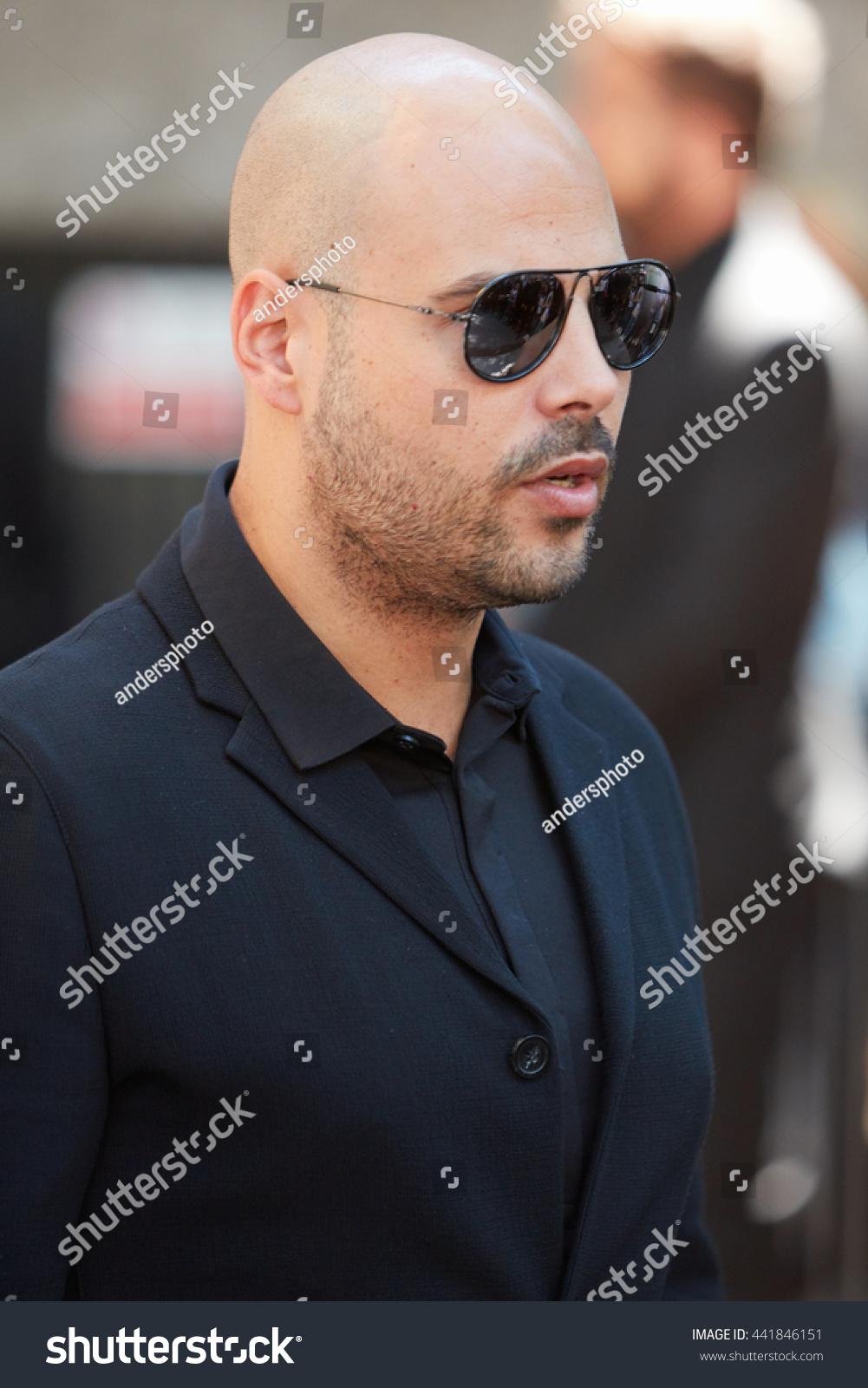 MILAN FEBRUARY 20 Italian Actor Marco Stock Photo (Royalty Free ...