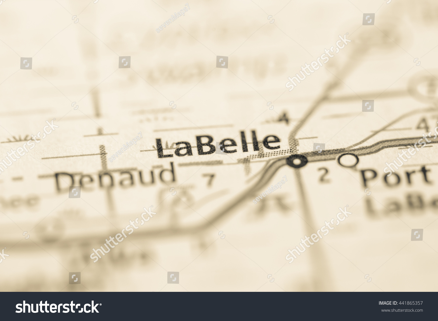 Where Is Labelle Florida In The Map.La Belle Florida Usa Stock Photo Edit Now 441865357 Shutterstock