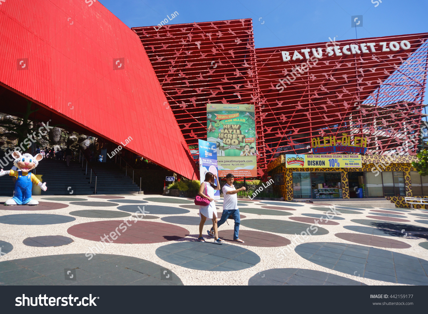 Batu Malang Indonesia Jun 12 2016 People Stock Image 442159177