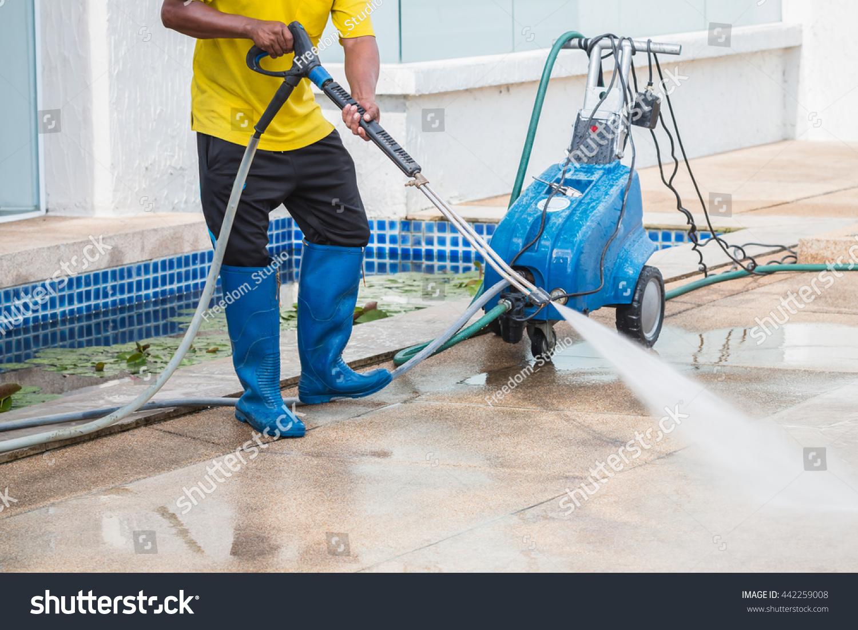Floor Cleaning Machine: Water Jet Floor Cleaning Machine