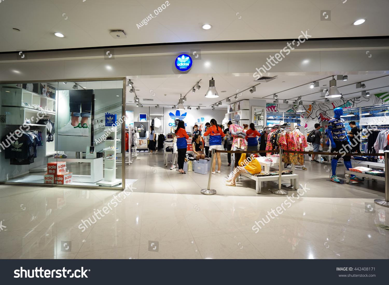 20bc7ad4 Hangzhouchina Jun242016 Adidas Originals Store Adidas Stock Photo ...