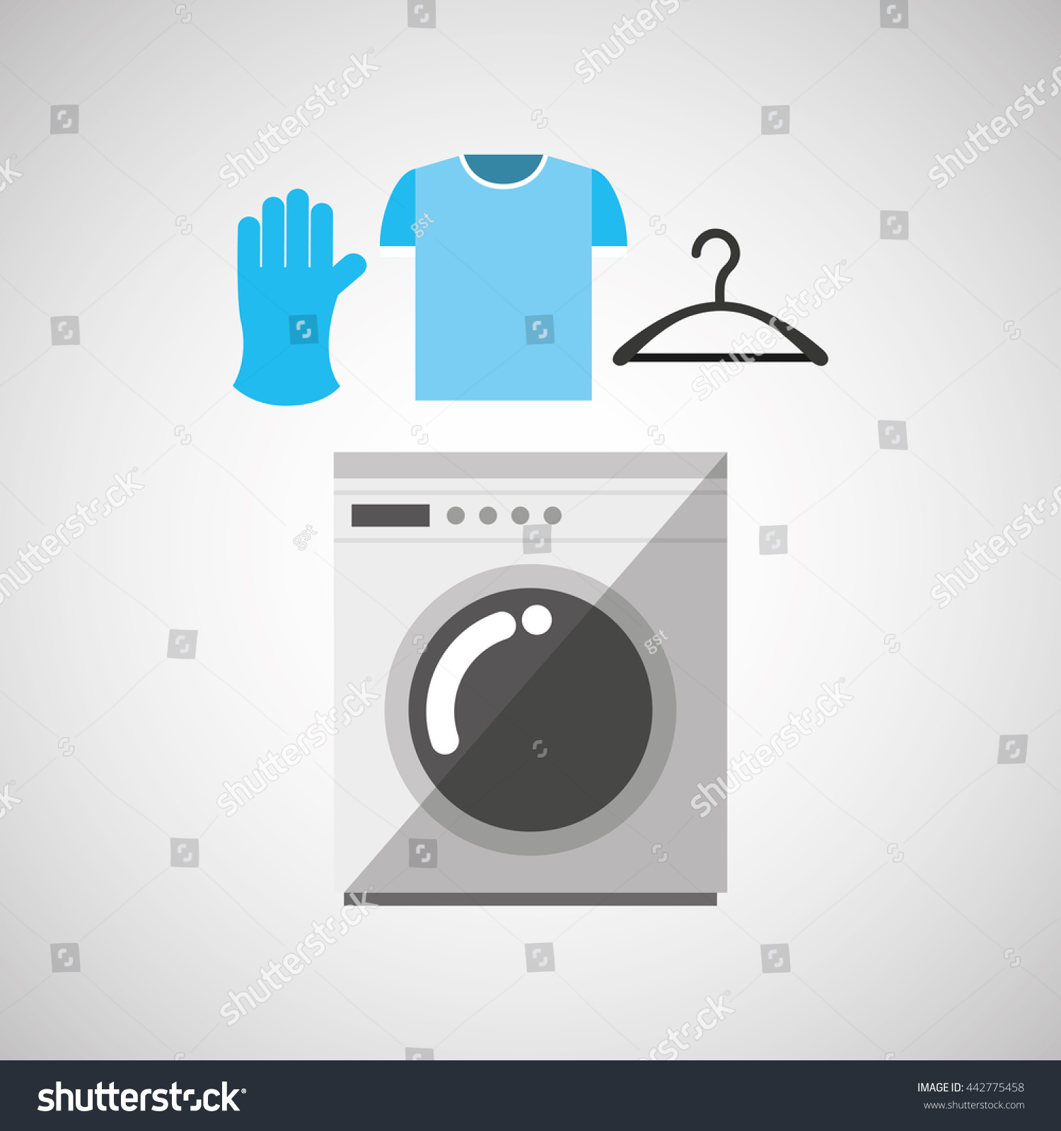 Home appliances design stock vector 442775458 shutterstock for Household appliances design