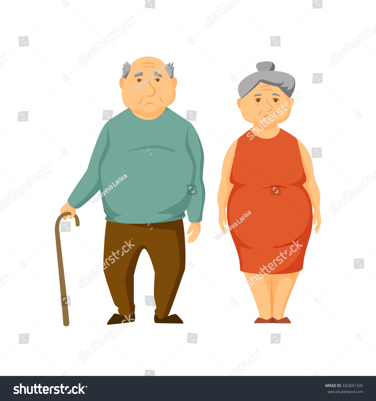 obesity in older women Older men and women have similar rates of obesity older obese adults are somewhat less likely to receive help from a professional caregiver -- 6 percent -- compared to 8 percent for non-obese adults of the same age.