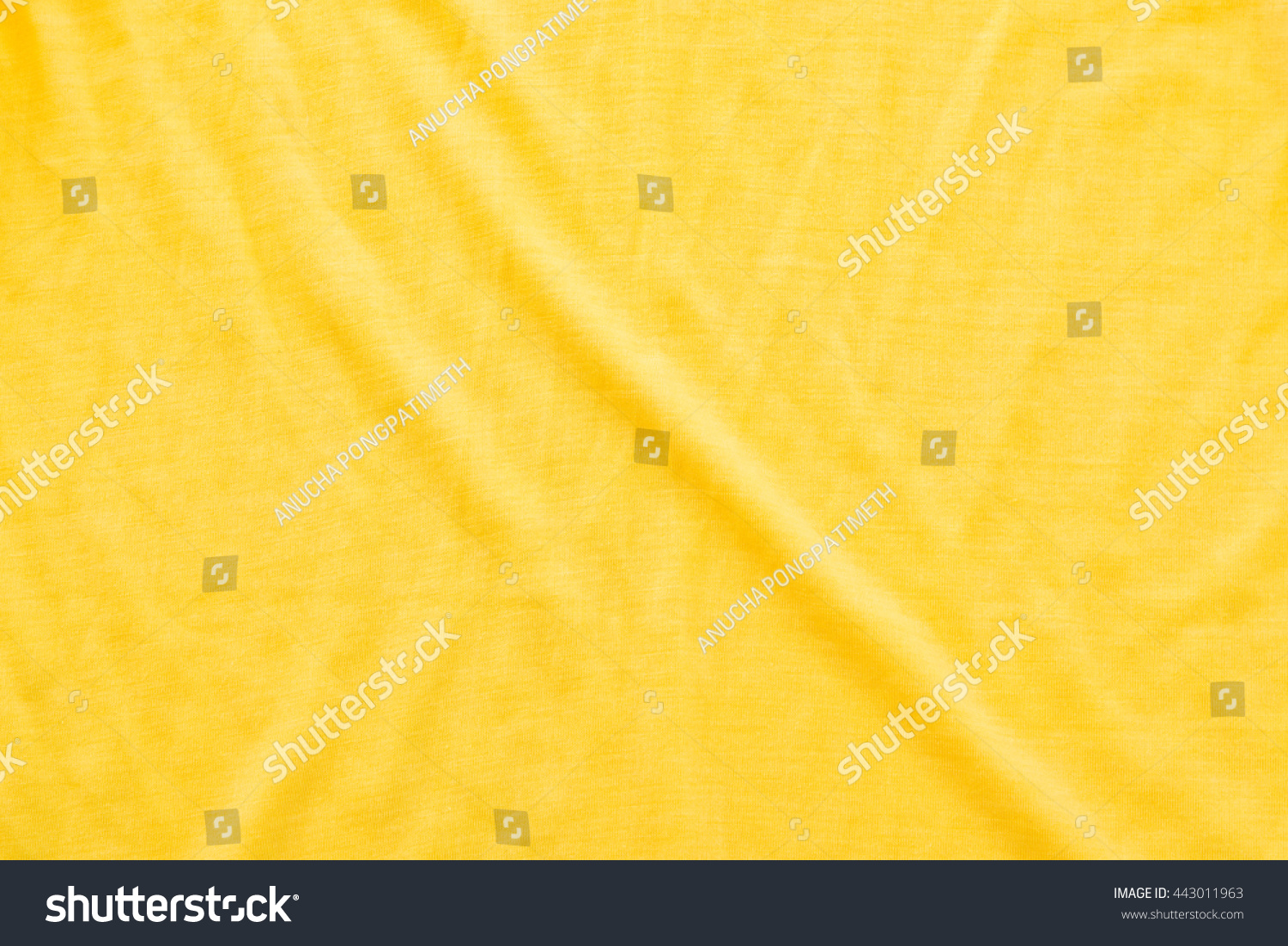 Wrinkled bed sheets texture - Close Up Of Yellow Wrinkled Bed Sheet Textured Background