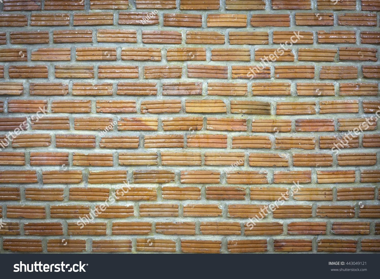 Background Old Vintage Brick Wall Oily Stock Photo (Edit Now) 443049121