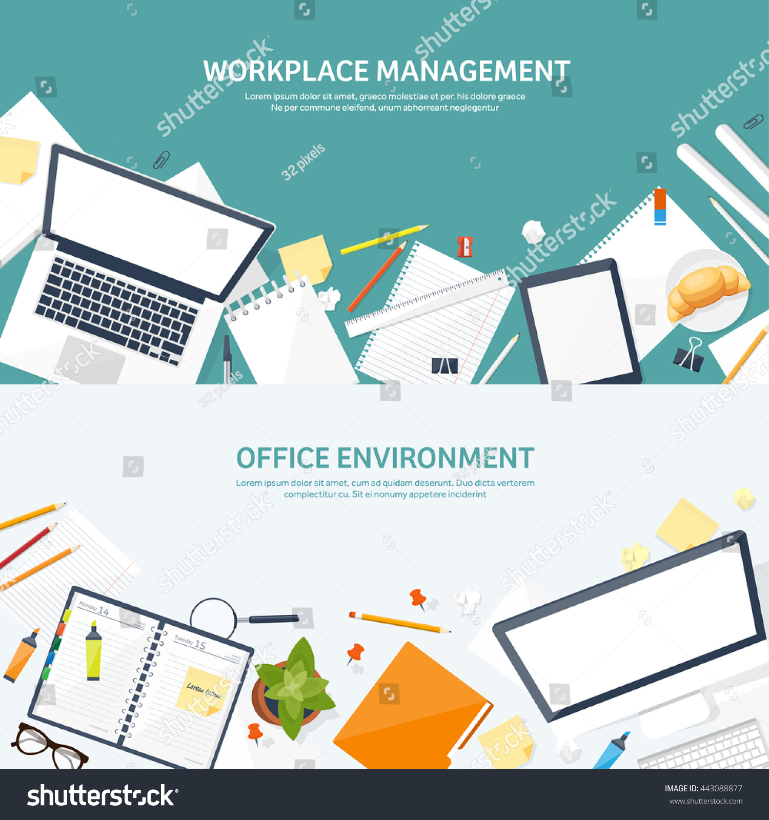 How to organize a workplace
