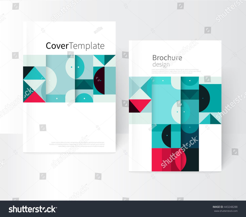 Creative Book Cover Design Vector : Vector book cover design creative concept 스톡 벡터