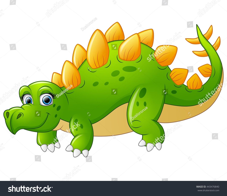 Uncategorized Cute Stegosaurus cute stegosaurus cartoon stock vector 443476840 shutterstock cartoon