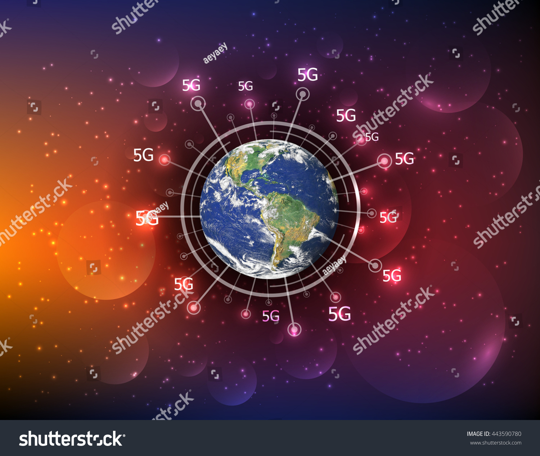 Best Internet Concept Global Business 5g Stock Photo (Edit