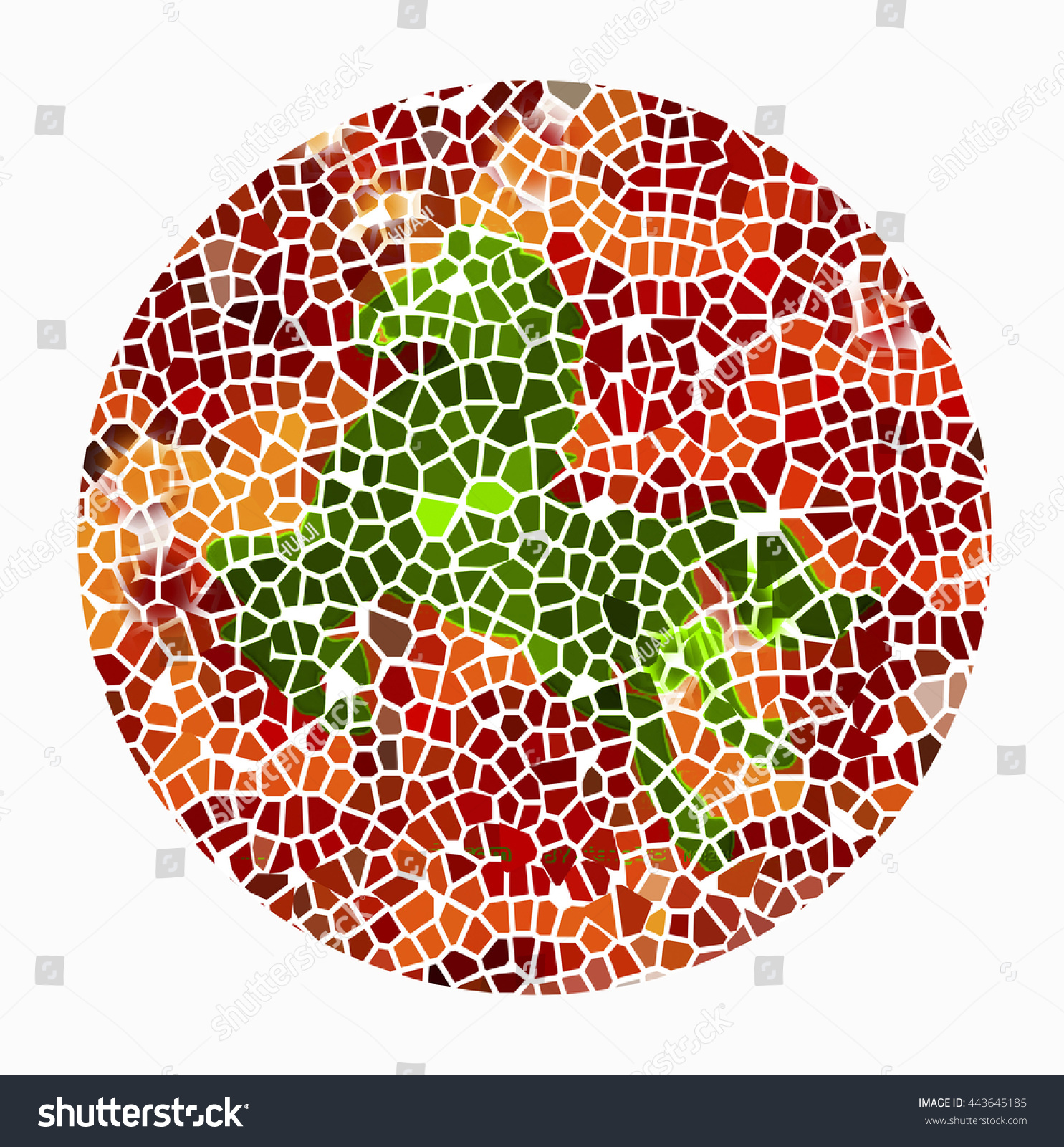 Color Blind Testhorse Stock Illustration 443645185 - Shutterstock