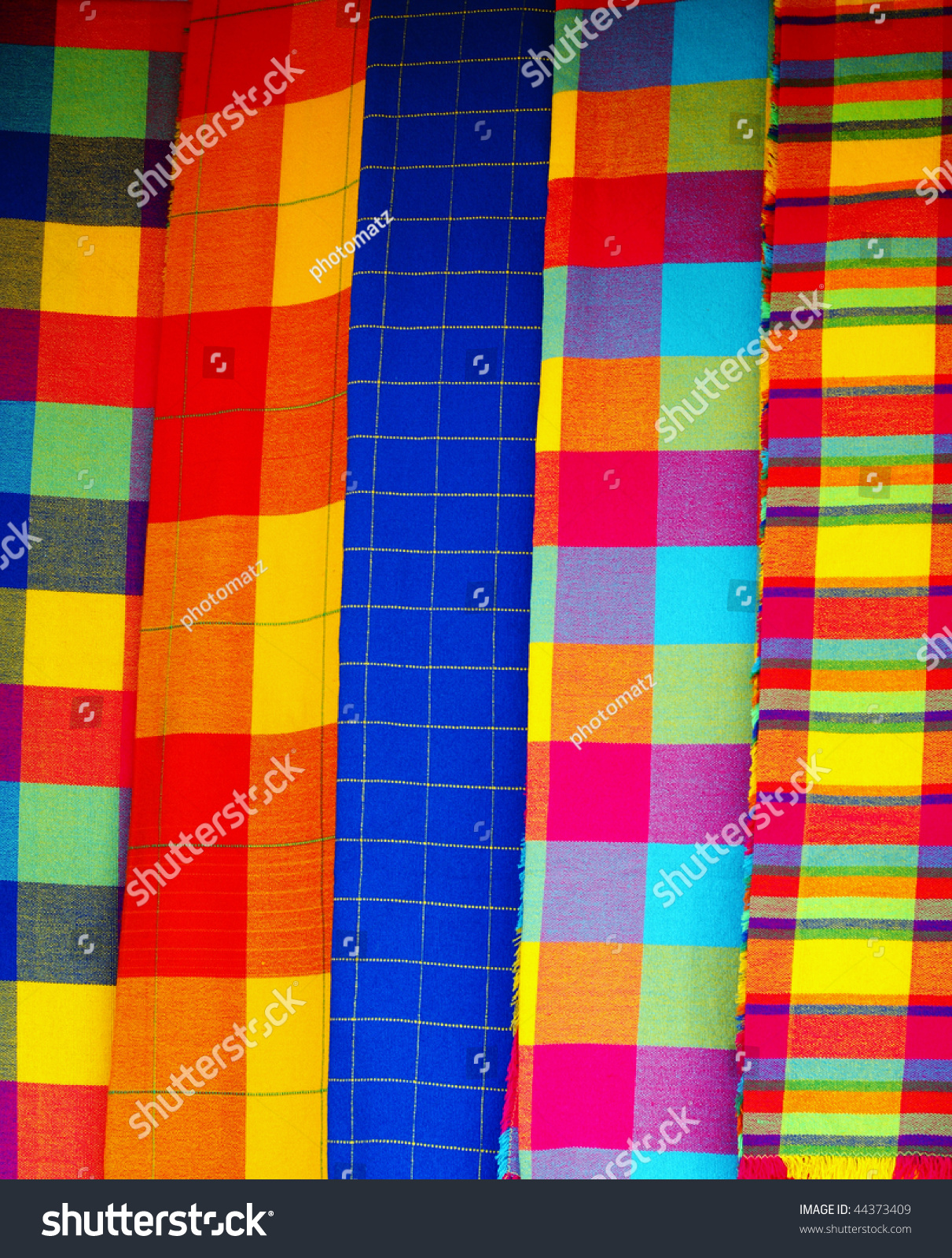Traditional Mexican Textile Stock Photo Edit Now 44373409