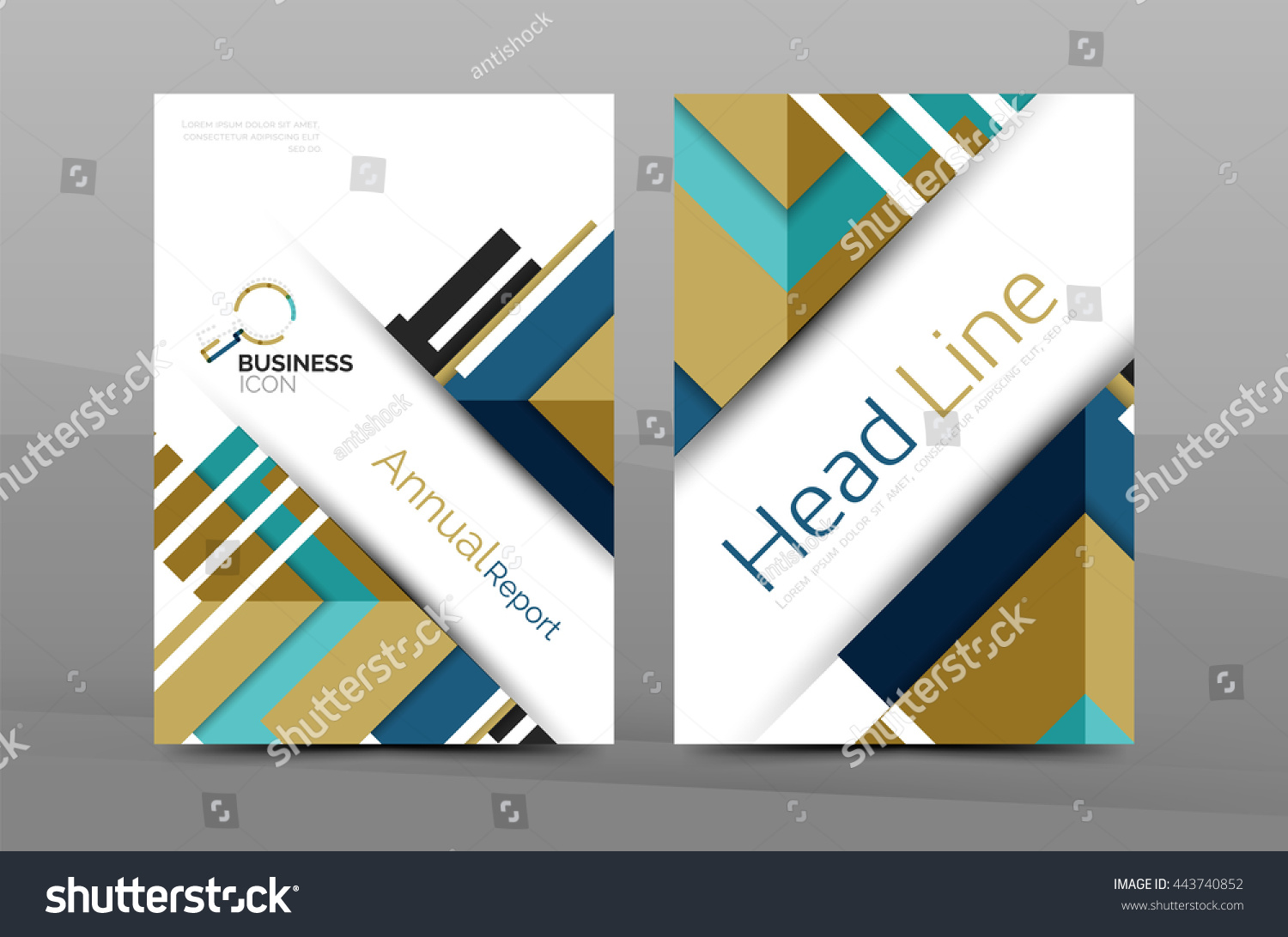 business cover page design brochure flyer stock illustration business cover page design brochure flyer layout abstract presentation background poster a4 size