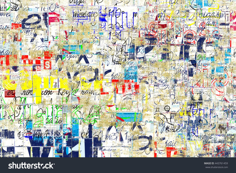 Graffiti street wall Grunge wall