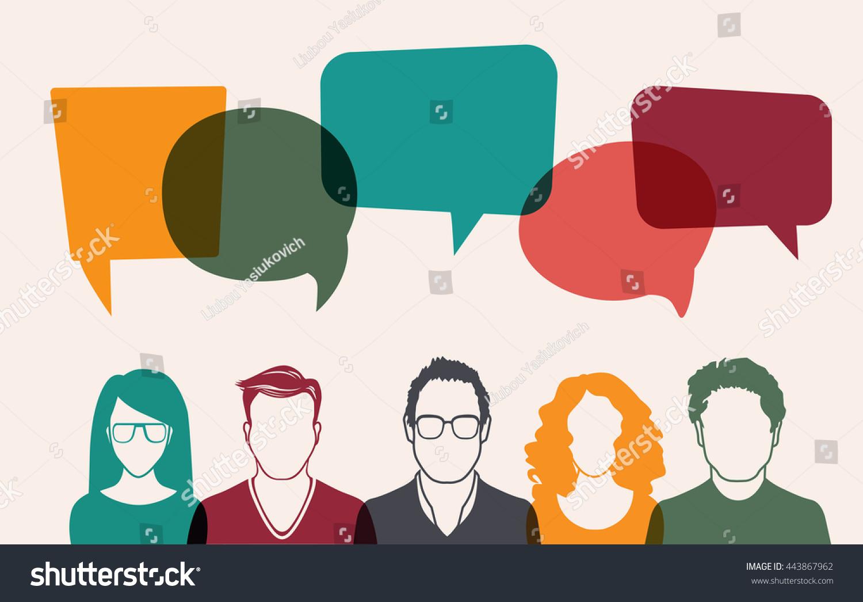 Idée De Photo De Profil image vectorielle de stock de ensemble d'images de profil d
