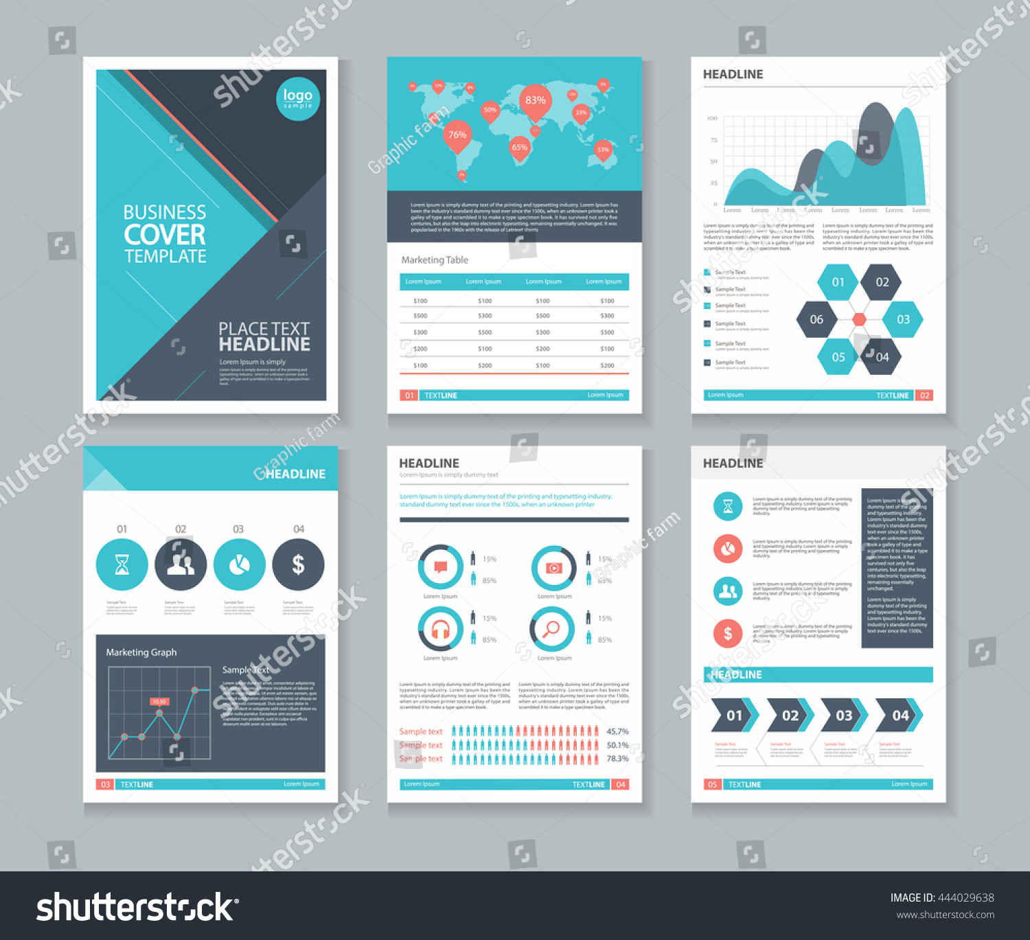 business report layout Designing report structure a typical business report includes the following elements: title your readers' first impression of the report it should be succinct but still describe the report's contents so it can be distinguished easily from other reports.