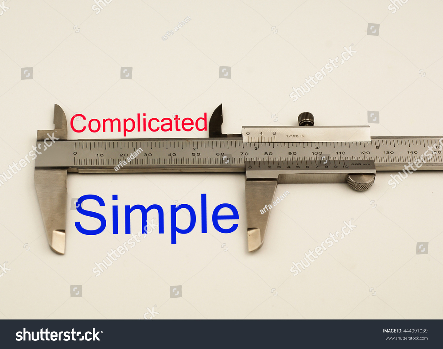 Worksheet Antonym For Simple vernier caliper with word simple vs complicated antonym concept save to a lightbox