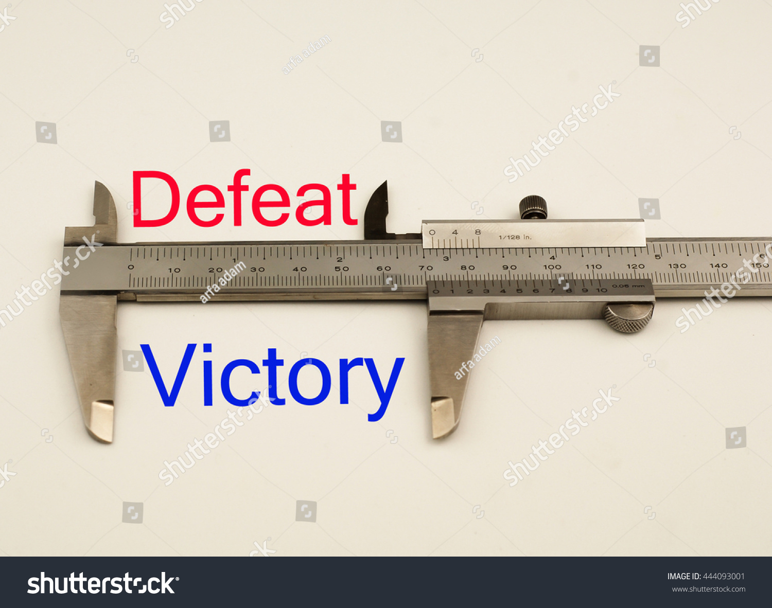 Worksheet Antonym For Simple vernier caliper with word victory vs defeat antonym concept stock save to a lightbox
