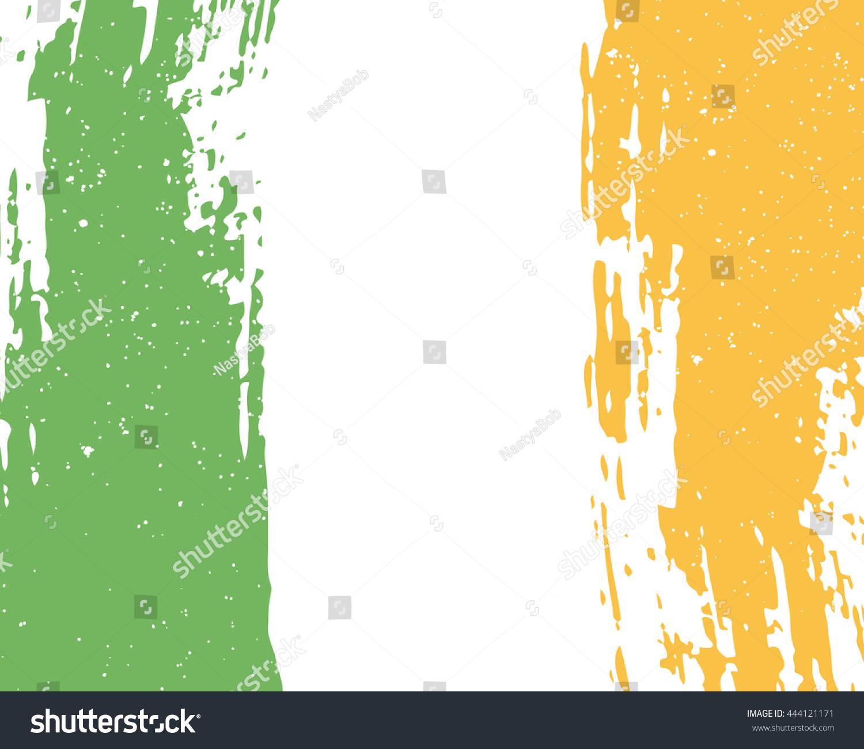 vector grunge background flag ireland irish stock vector 2018 rh shutterstock com grunge background vector 1280x720 vector grunge background illustrator