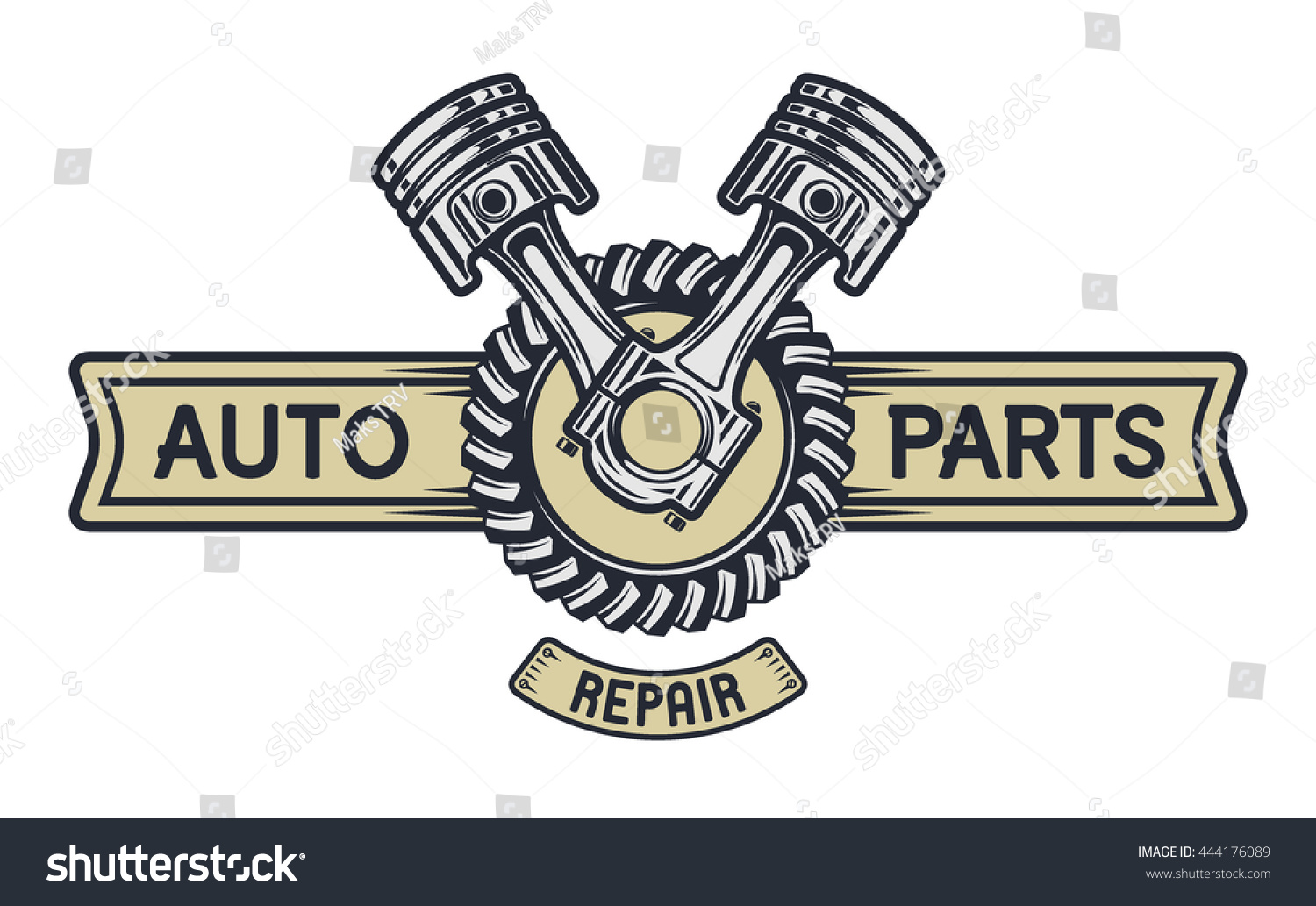 Piston gear space text repair service stock illustration 444176089 repair service emblem signboard illustration vector copy biocorpaavc Gallery