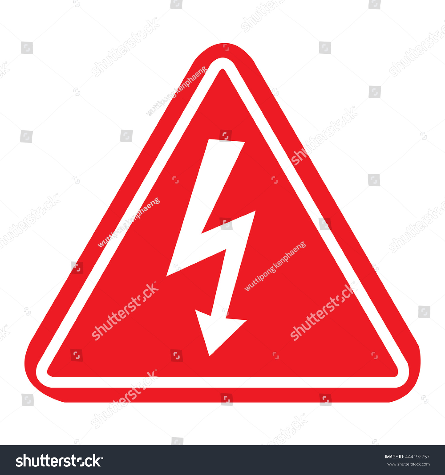 Danger high voltage symbol view symbol buycottarizona