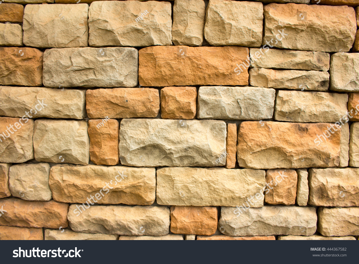 Natural stone materials in classic building patterns and methods for ...
