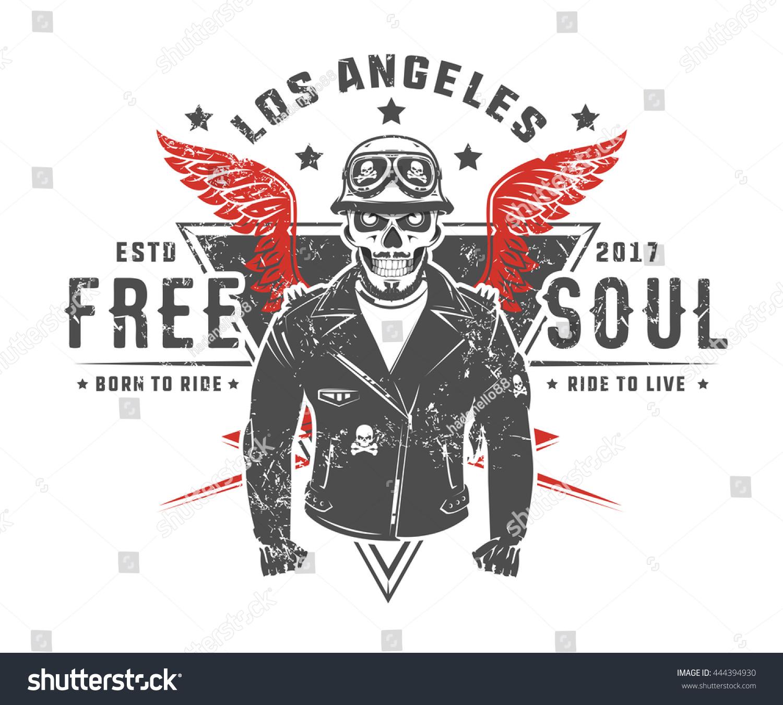 set motorcycle biker vintage style tattoo stock vector 444394930 shutterstock. Black Bedroom Furniture Sets. Home Design Ideas