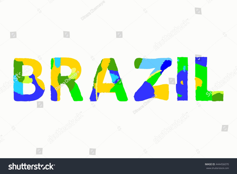 Sign symbol rio de janeiro brazil stock vector 444456070 sign symbol rio de janeiro brazil in colors of the brazilian flag brazil carnival biocorpaavc