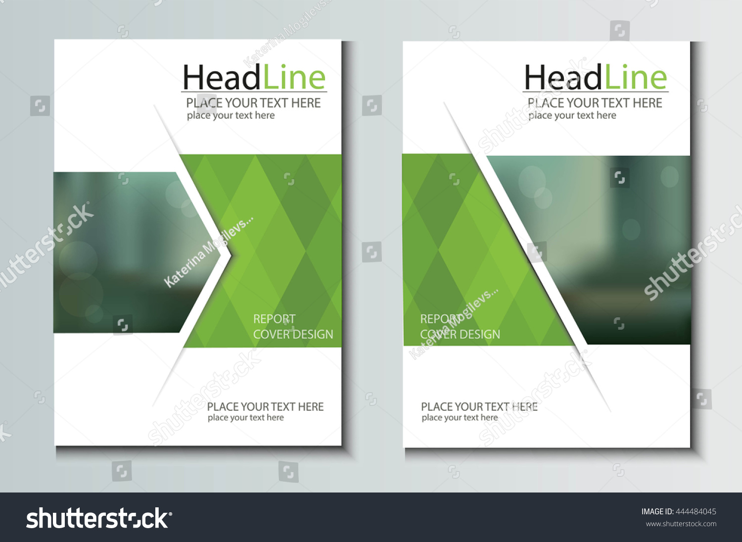 Leaflet brochure flyer template a4 size stock vector for Brochure size template