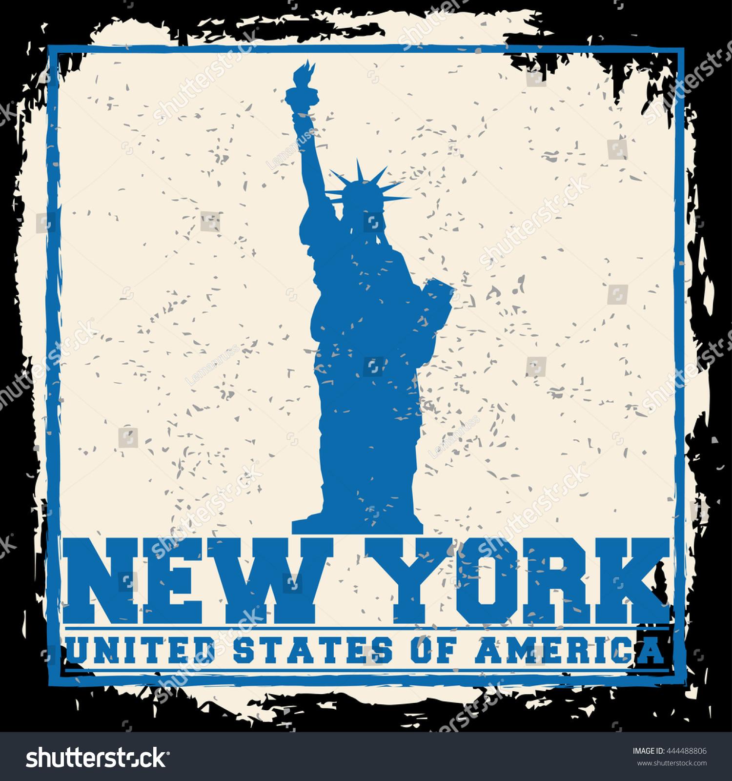 Poster design nyc - New York City Concept Logo Label T Shirt Design Nyc