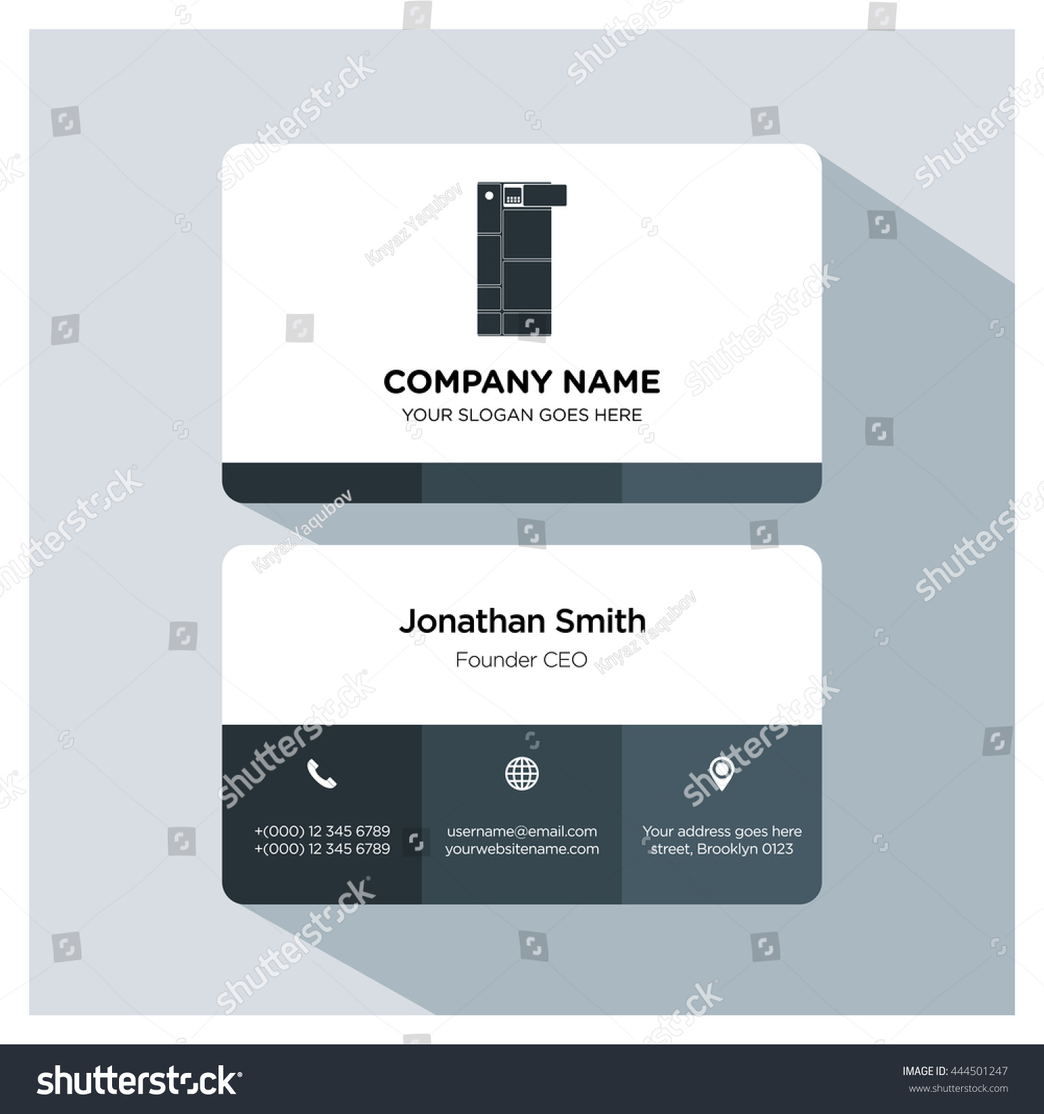 Phone icon for business cards images free business cards phone icon business card choice image free business cards modular phone icon business card template stock magicingreecefo Images