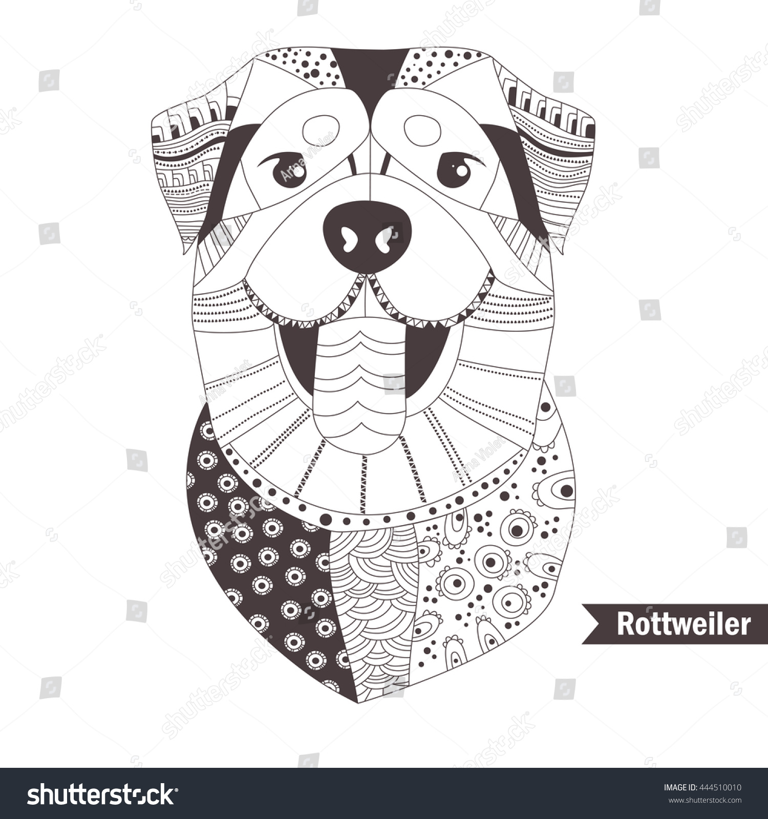 rottweiler coloring pages corpedo com