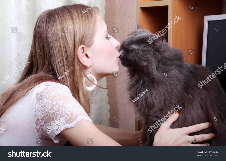 katze küssen