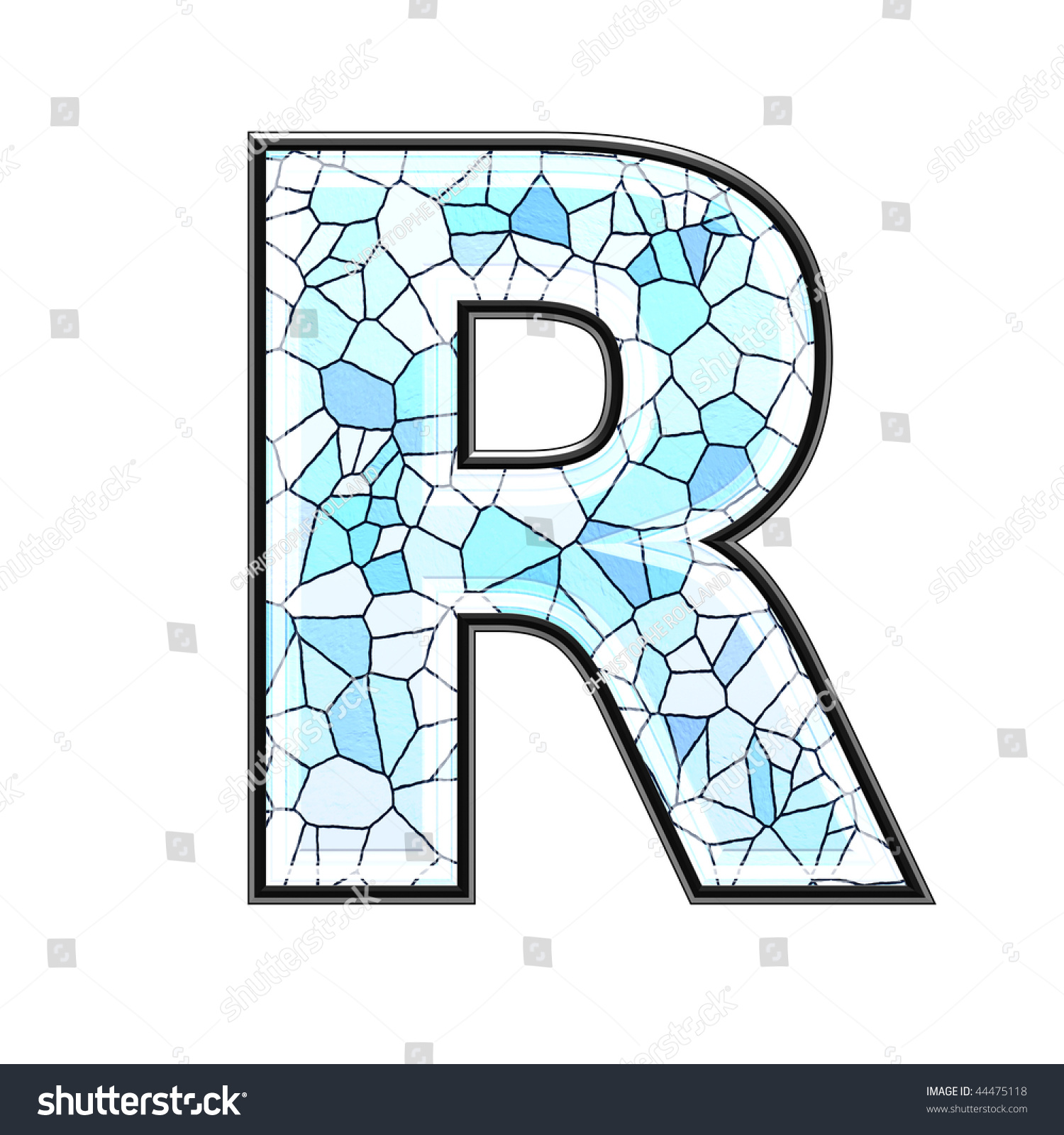 Abstract 3d letter ceramic tile texture stock illustration abstract 3d letter with ceramic tile texture r doublecrazyfo Gallery