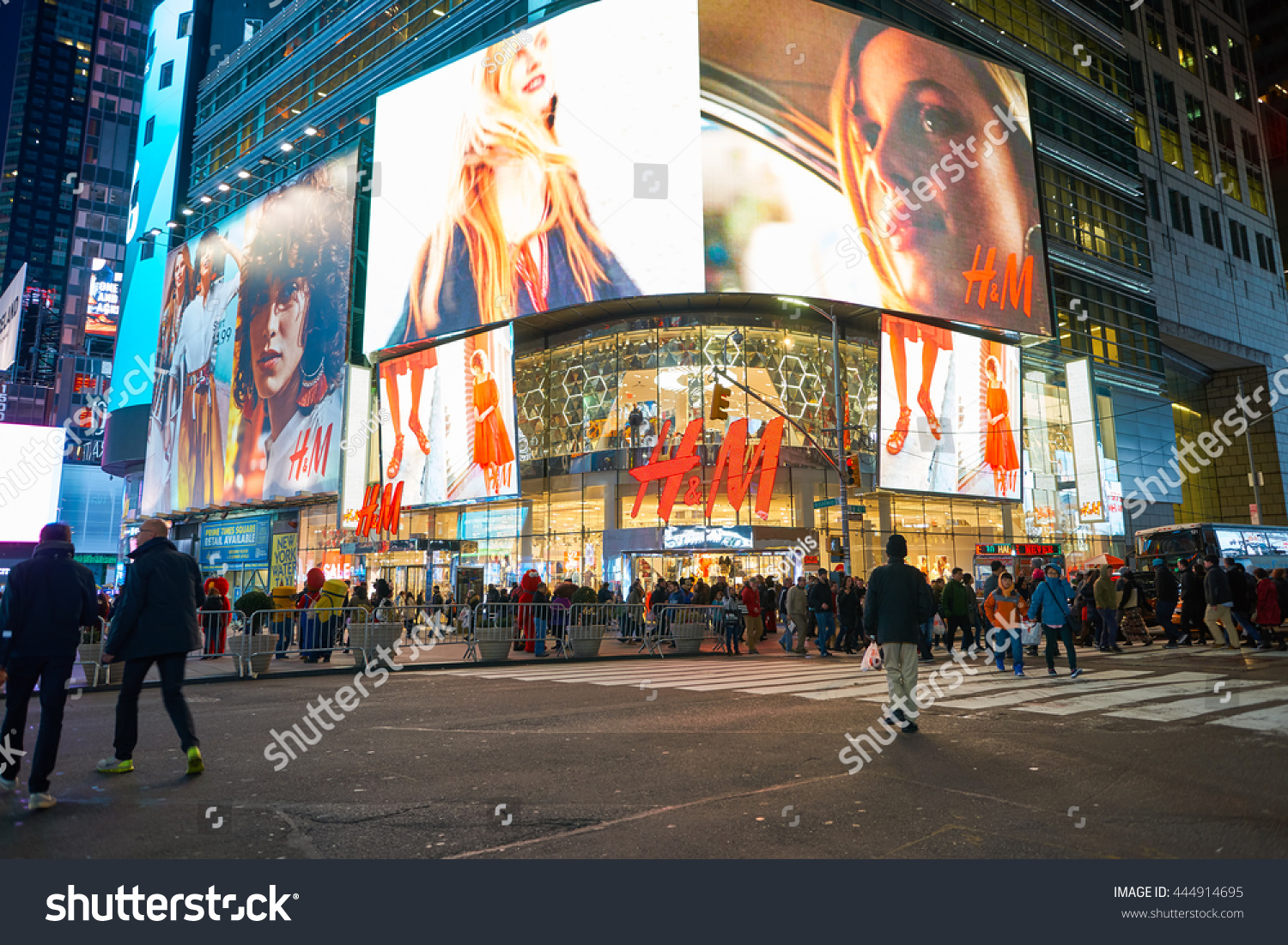 Times square clothing stores