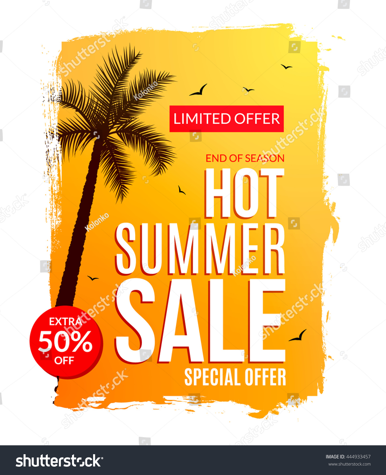 Poster design price - Summer Hot Sale Discount Template Poster Summer Sale Flyer Special Offer Half Price Deal