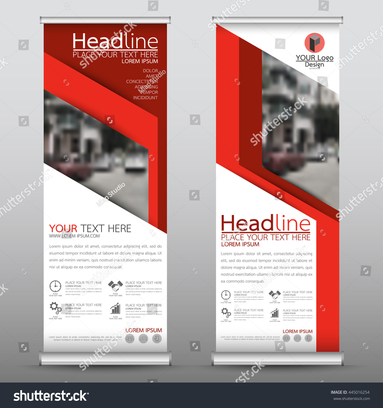 red roll business brochure flyer banner stock vector  red roll up business brochure flyer banner design vertical template vector cover presentation abstract geometric