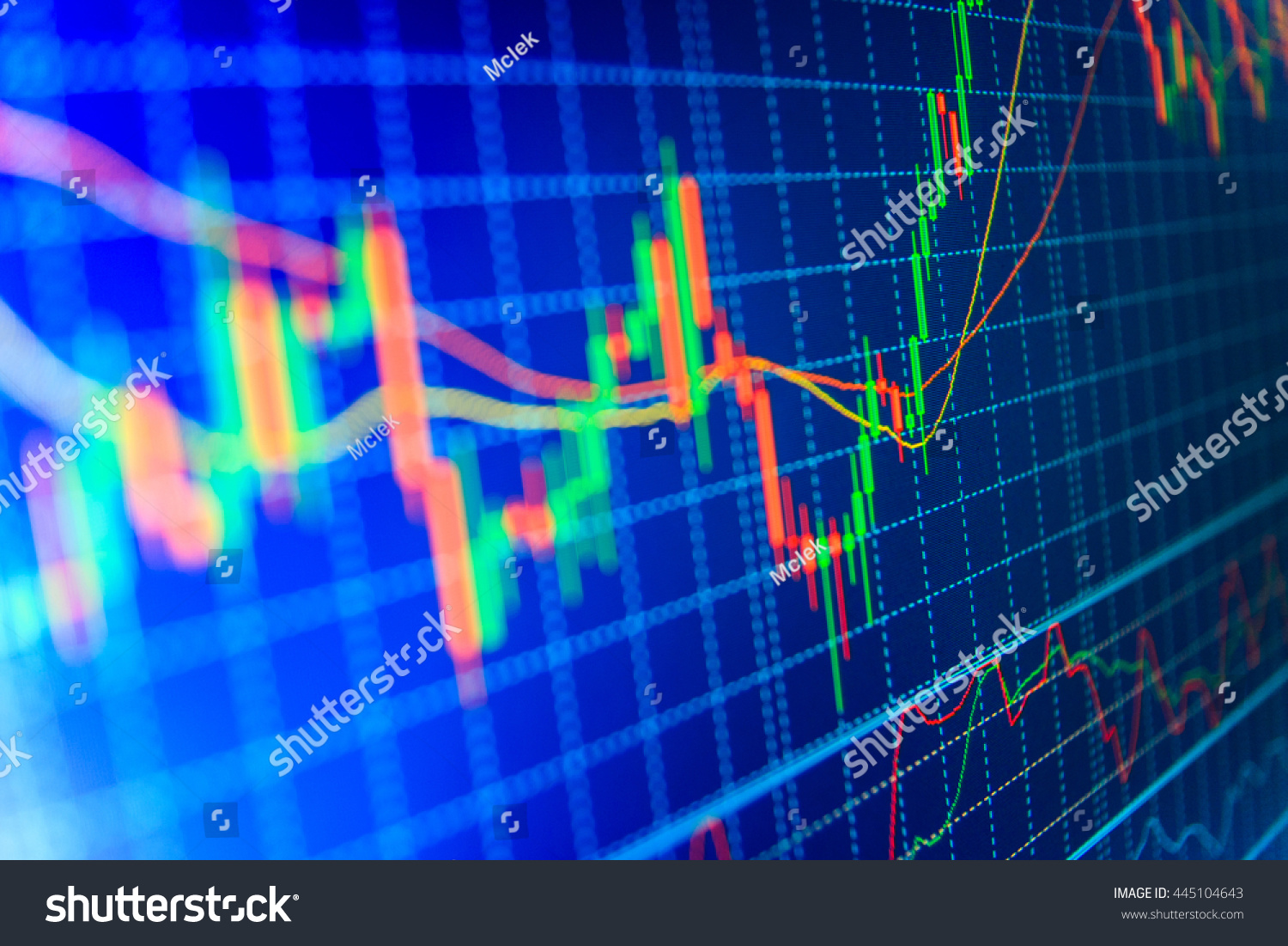 Stock Market Quotes On Display Business Photo 445104643 – Stock Market Analysis