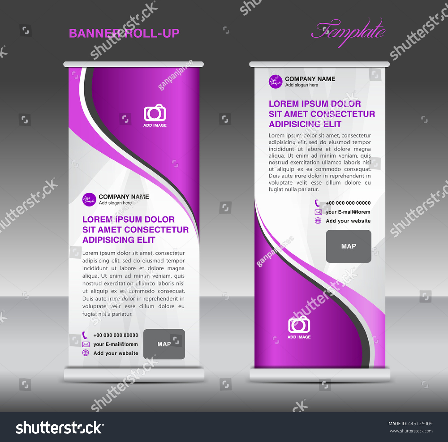 purple and white roll up banner stand template advertisement for purple and white roll up banner stand template advertisement for business advertisement display