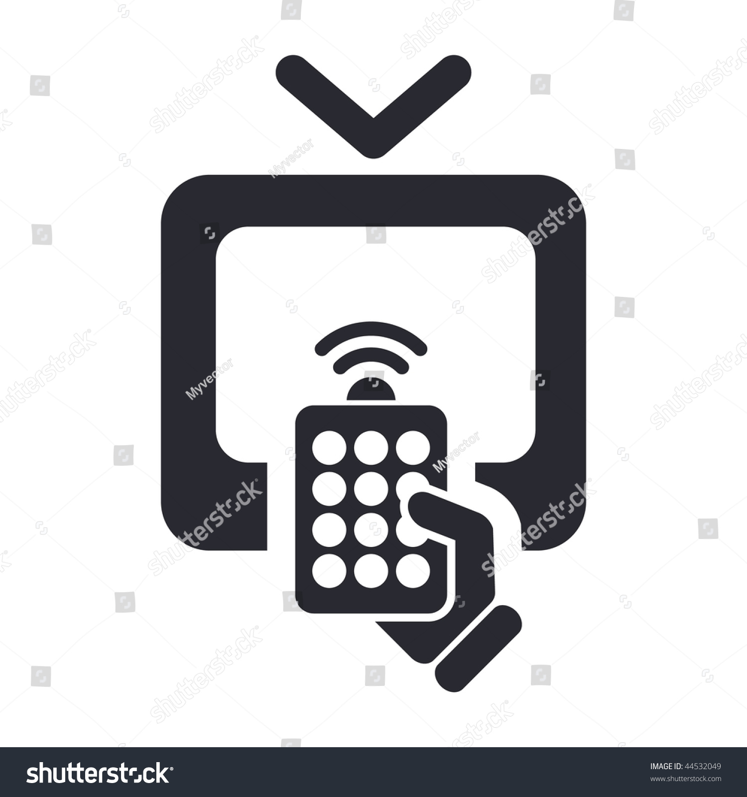 Remote Icon Stock Photos Images Pictures Shutterstock