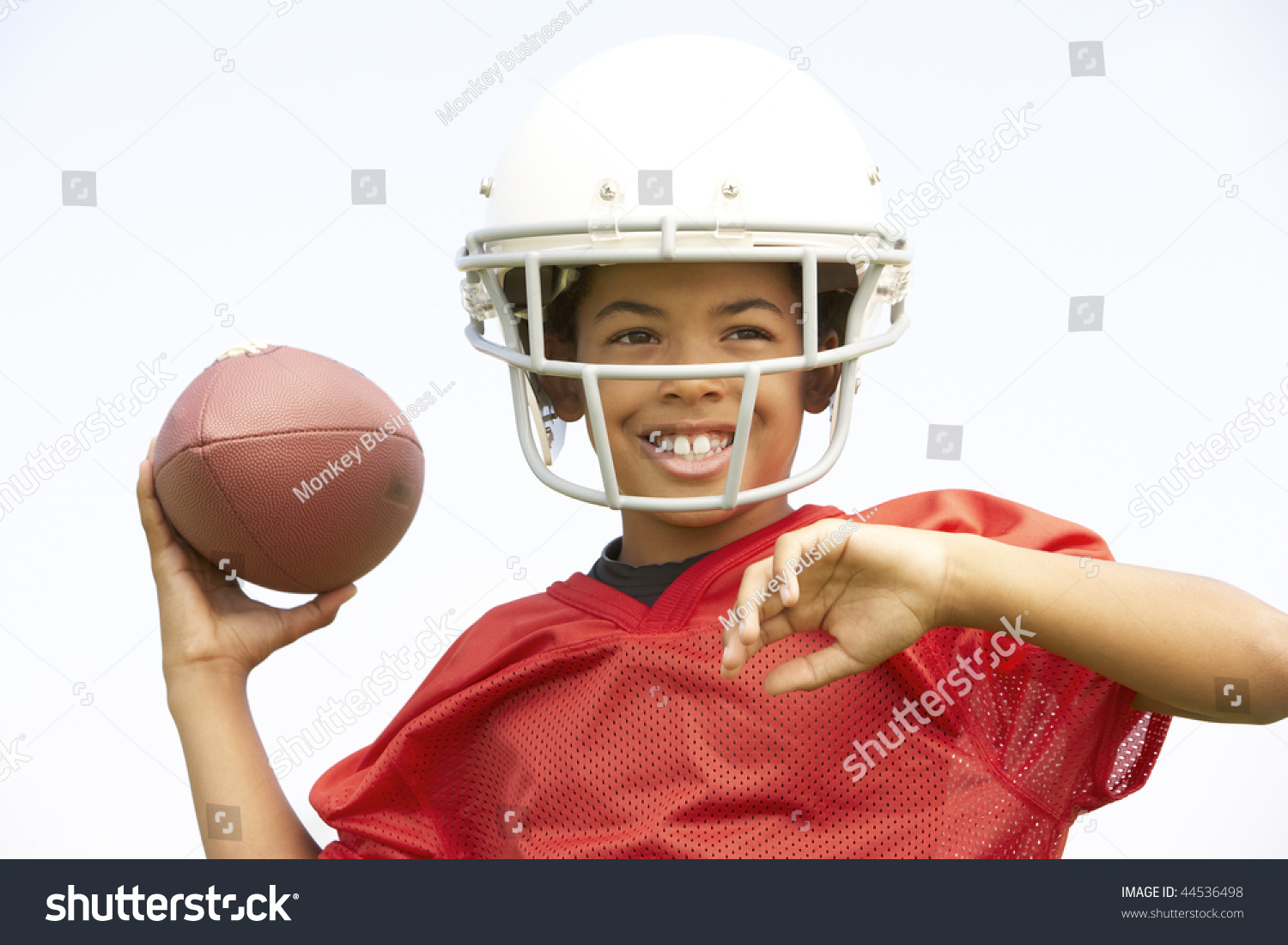 BBC Sport - American football: The boy with no legs ...