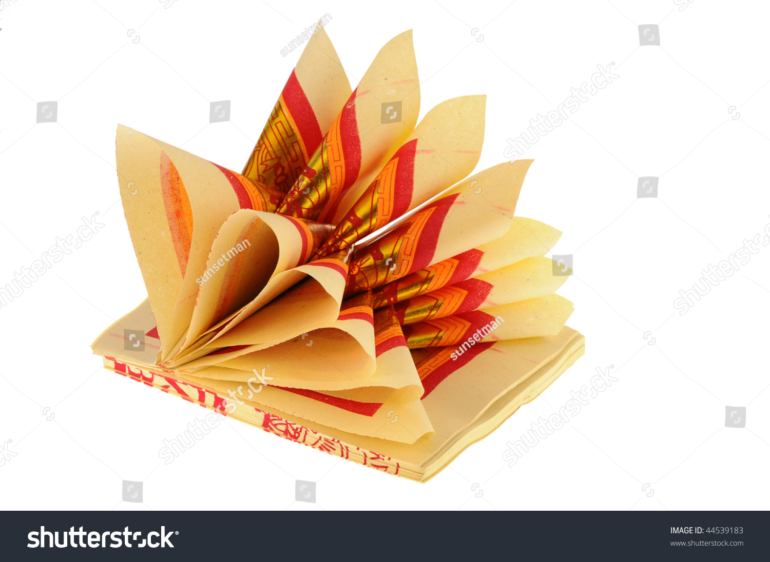 Folded Incense Paper Stock Photo Edit Now 44539183 Shutterstock