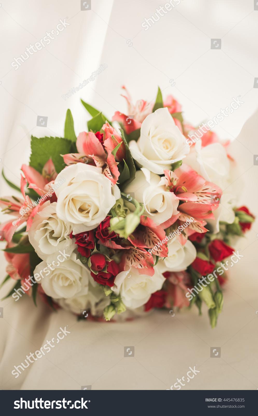 Wedding perfect bridal bouquet different flowers stock photo wedding perfect bridal bouquet of different flowers izmirmasajfo Gallery