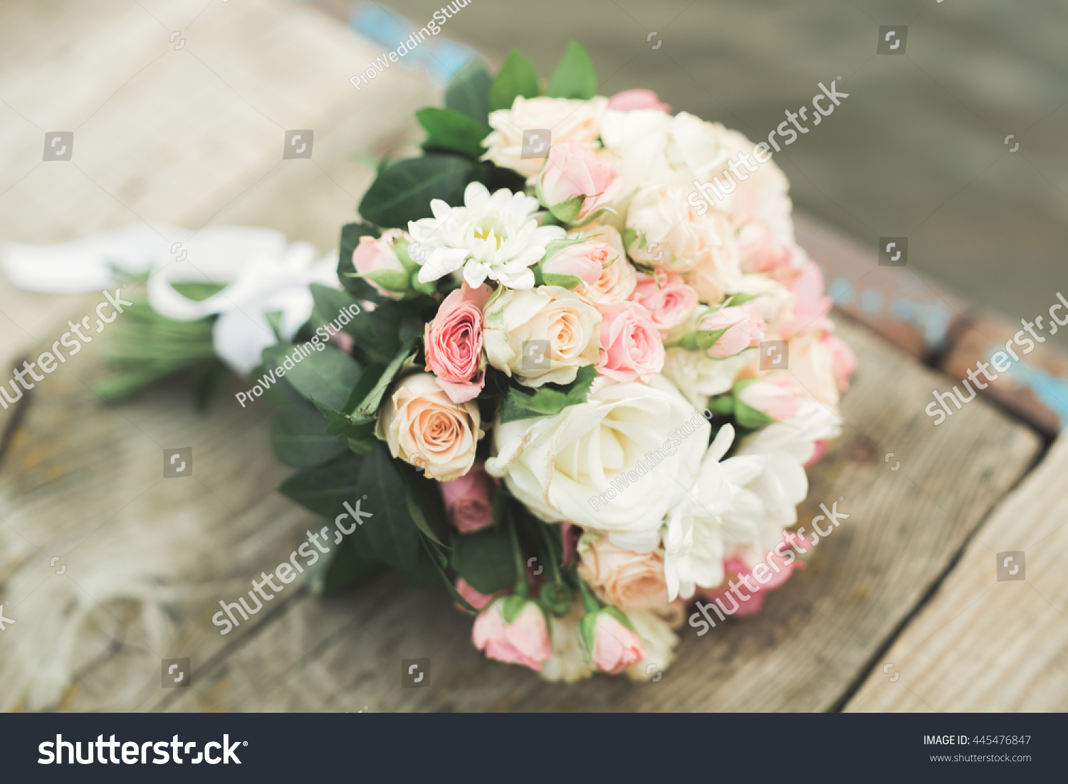 Wedding perfect bridal bouquet of different flowers ez canvas id 445476847 izmirmasajfo