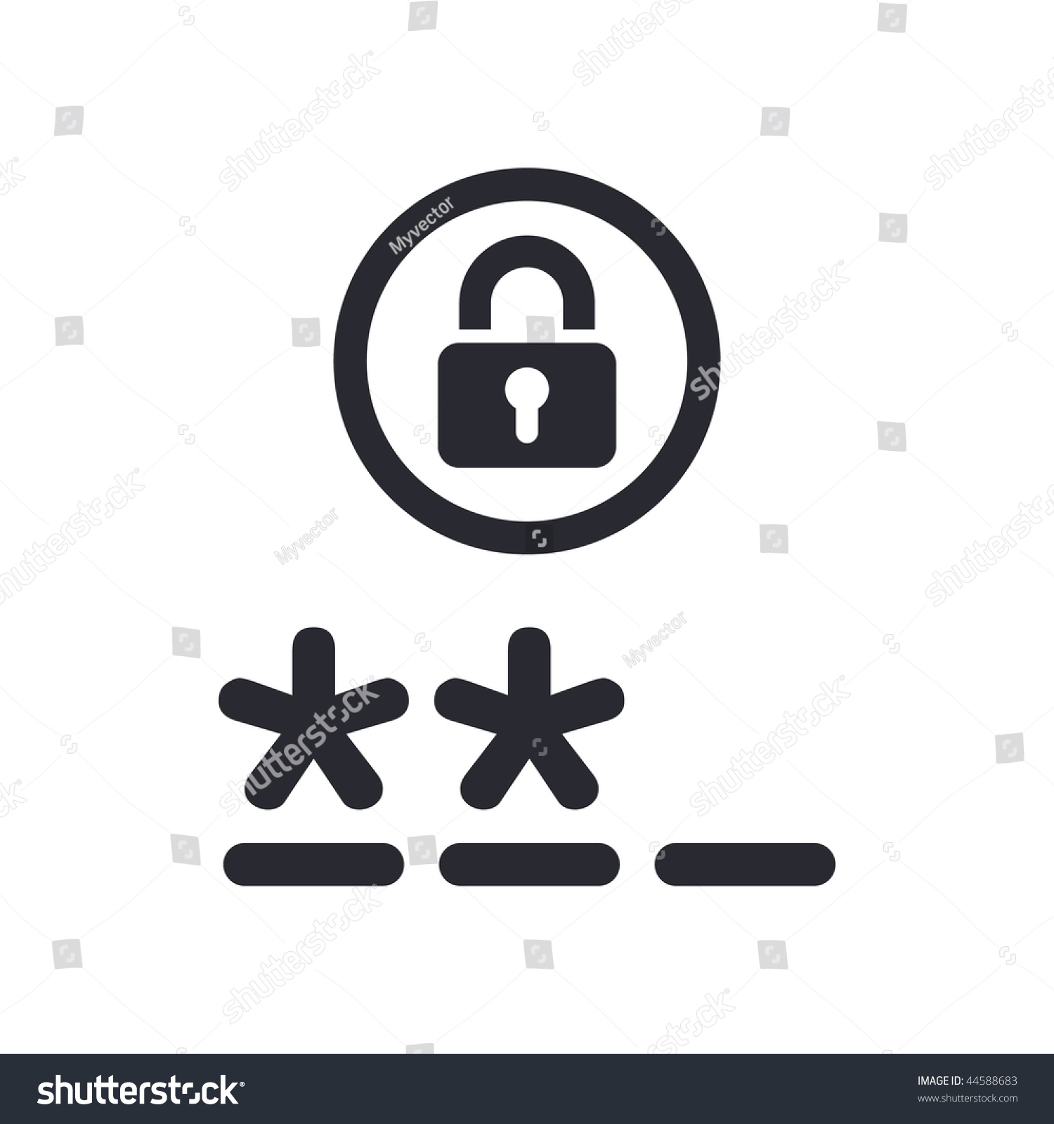 Login website screen stock images image 27209274 - Stock Vector Vector Illustration Of Modern Icon Depicting A Login