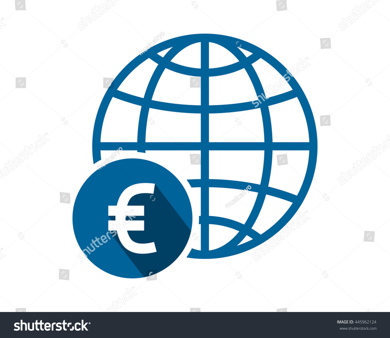 Euro globe currency financial money price stock vector 445962124 euro globe currency financial money price economy image vector icon logo symbol biocorpaavc